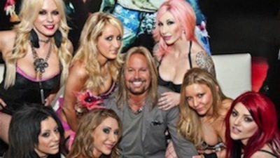 Vince Neil Opens a Strip Club Even He Can't Get Kicked Out Of