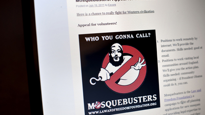 Hate the Thought of Muslims Being Near You? Call Mosquebusters