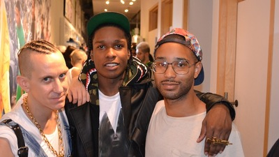A$AP Rocky and Jeremy Scott Schooled Me on How to Be a Pretty Motherfucker