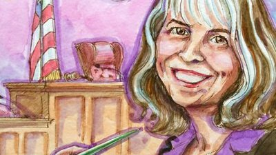 Judgment Day: Vicki Behringer Sketches People About to Go to Jail