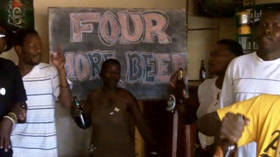 'Four More Beers for Obama,' Sings Africa