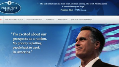 This Would-Be Mitt Romney Site Is So Boring