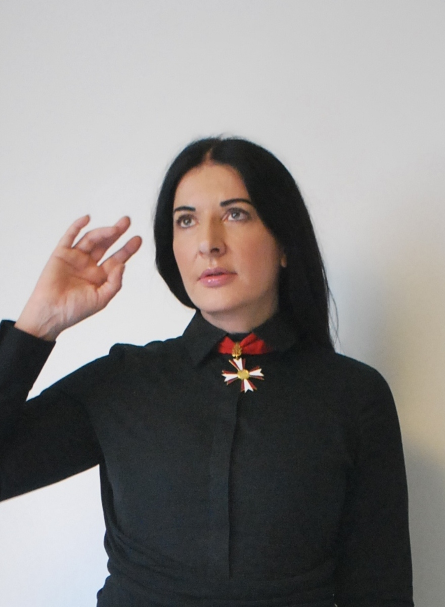 Shooting the Shit with Marina Abramovic