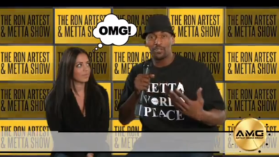 Metta World Peace Declares War on Good Rap