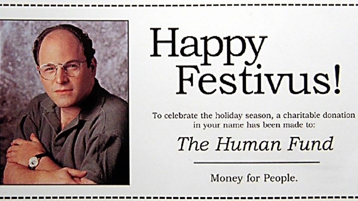 My Family Actually Celebrates Festivus