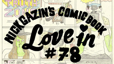 Nick Gazin's Comic Book Love-In #78