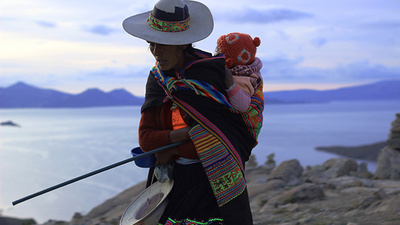 Celebrating the End of Capitalism on Lake Titicaca