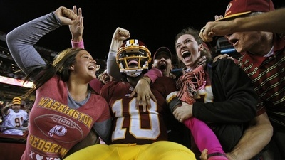 Robert Griffin III, Teenaged Runaway