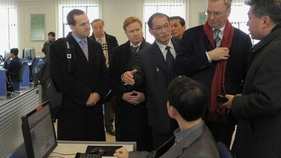 What the Hell Is Eric Schmidt Doing in North Korea?