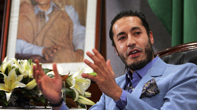 "Saadi Gaddafi Is Not a War Criminal, ""He's a Fun Guy,"" Says His Bodyguard"