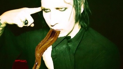 Skype Dinner with Marilyn Manson: He Had Eel