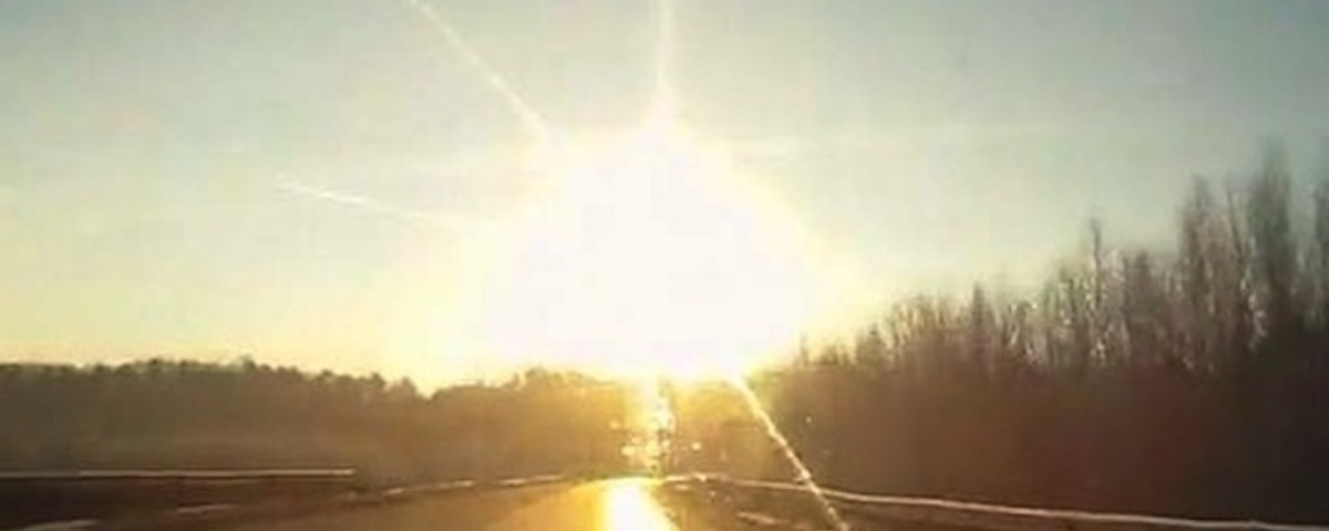 A Massive, Spectacular Meteor Exploded Above Russia This Morning