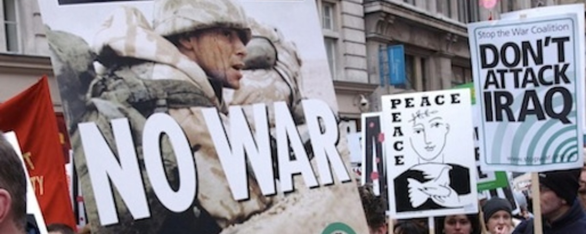 It's Been a Decade Since the Huge Anti-Iraq War Demonstration