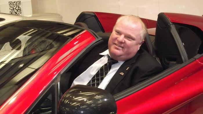 Rob Ford Has a Terrible Photographer
