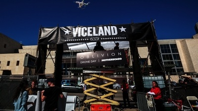 When Swarms of Drones Invaded VICELAND During SXSW