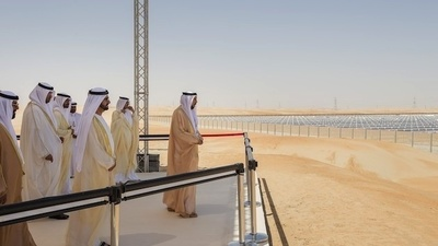 Abu Dhabi Built the World's Largest Solar Power Plant with Oil and Mirrors