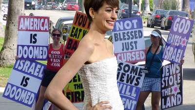 What Do Hate Groups Think of Anne Hathaway?