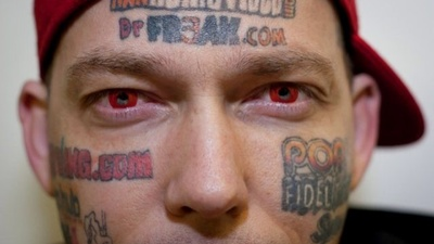 I Tattooed Porn Websites On My Face So My Kids Wouldn't Starve