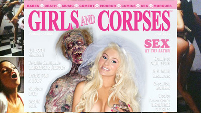 Why Is Courtney Stodden On the Cover of 'Girls and Corpses'?
