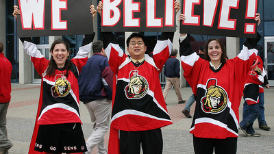 Ottawa Senators Fans Are Good Buddhists