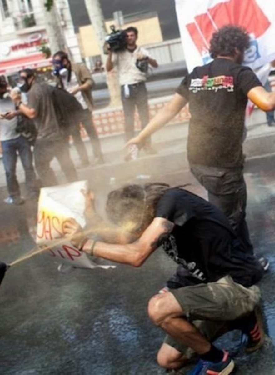 Occupiers Faced Down Cops in Istanbul's Taksim Square