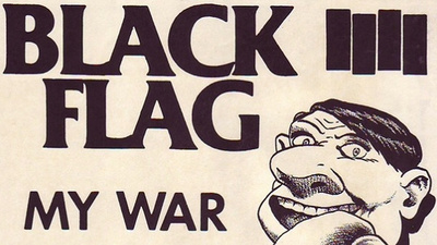 Über 80 originale Black-Flag-Flyer