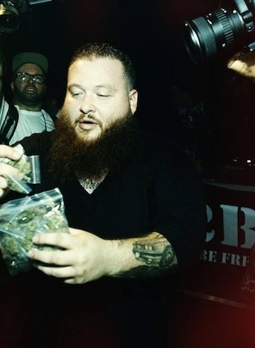 Action Bronson and Harry Fraud Passed Out Pot at the Noisey Rap Party