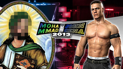 The Prophet Muhammad Vs. John Cena