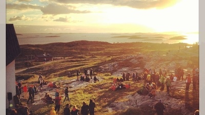 Eating Whale Steaks at Norway's Gorgeous Træna Music Festival