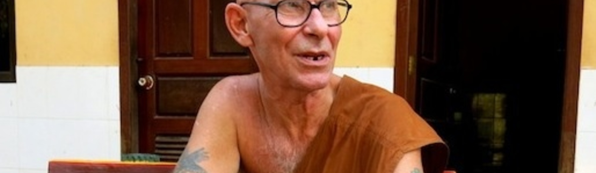 From Heroin Addict to Nirvana: A Eulogy to the British Monk I Met Months Before He Died