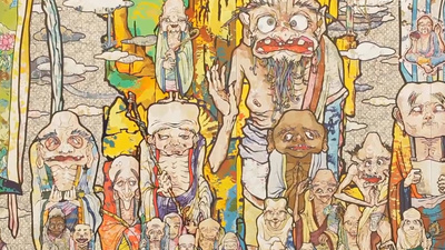 Takashi Murakami on Nuclear Monsters and Buddhist Damnation