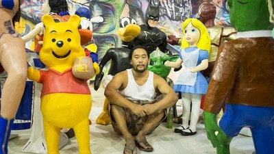 David Choe's Mexico City Gallery Show Features Naked Girls and Visions of Ayahuasca