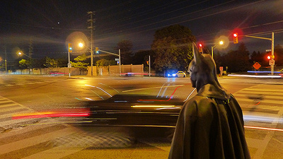 On Patrol with Ontario's Suburban Batman