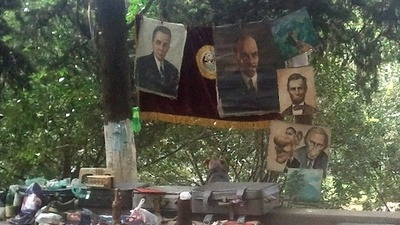 Buying and Selling the Past at Tbilisi's Dry Bridge