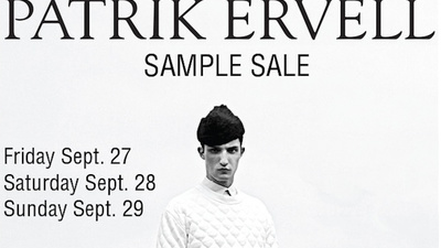 All Broke Dudes Need to Go to the Patrik Ervell Sample Sale Today