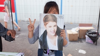 Chinese Teenagers Are Obsessed with Justin Bieber, Too