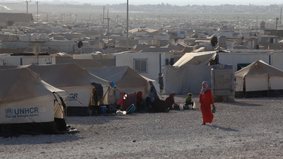 Za'atari Refugee Camp