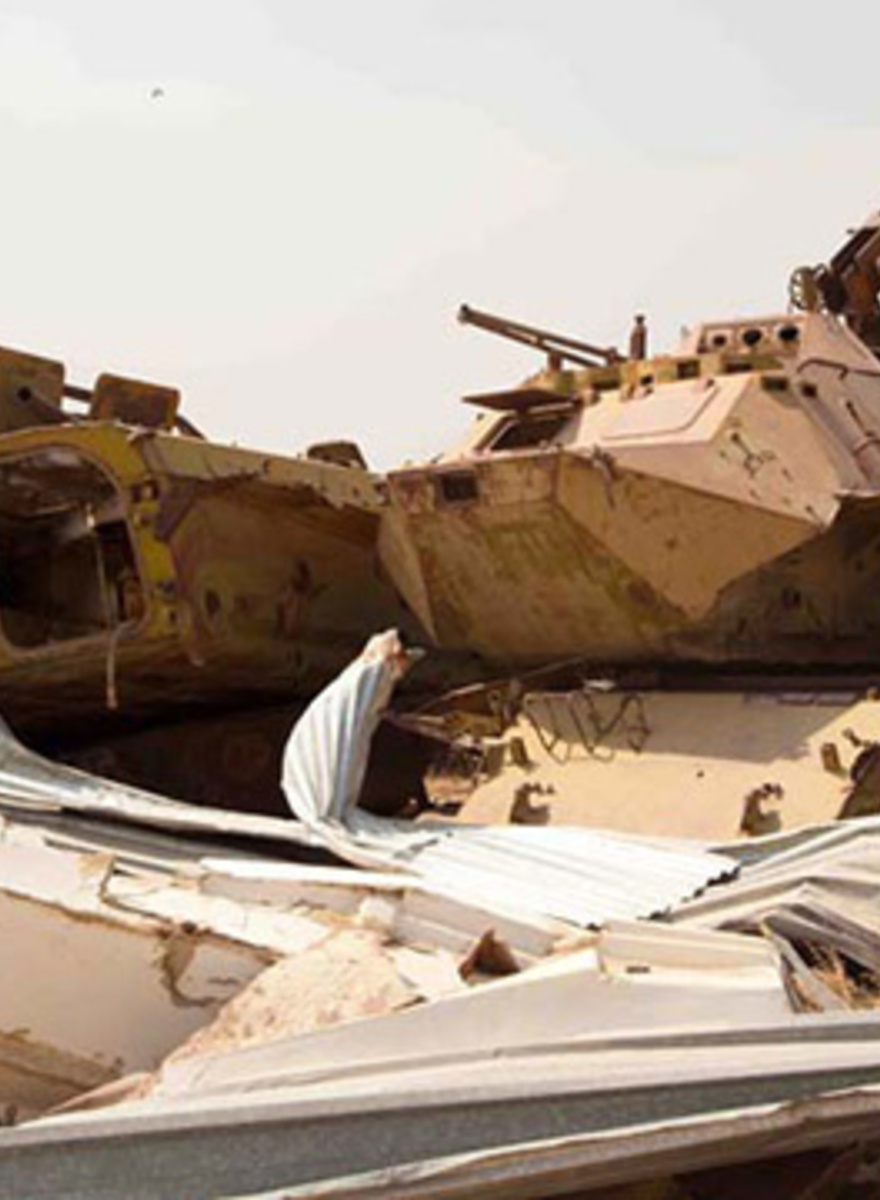 Stepping Lightly in Afghanistan's Soviet Tank Graveyard