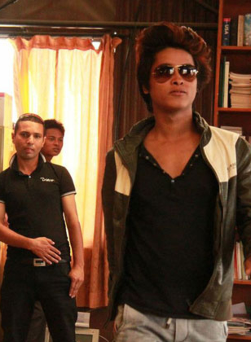 I Went to the Rehearsal of Nepal's First Gay Mr. Handsome Pageant