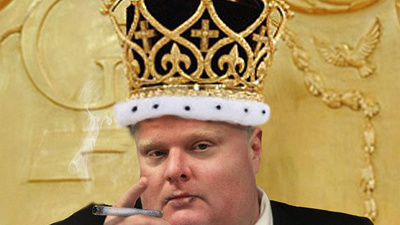 Rob Ford Is So Awful It's Exhausting