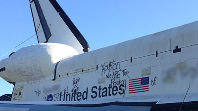 The Space Shuttle Isn't Racist, It's a Work of Art