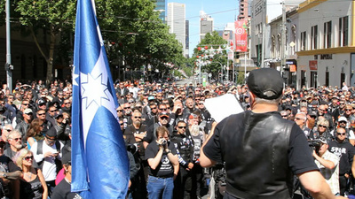 Australian Bikies Protested Tough New Anti-Association Laws