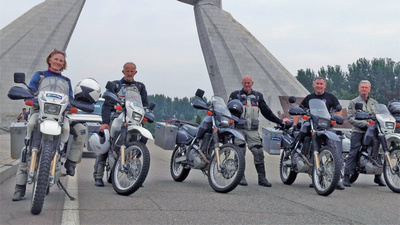 North Korean Motorcycle Diaries