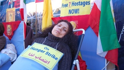 Seven Iranians Are Hunger Striking at the US Embassy in London