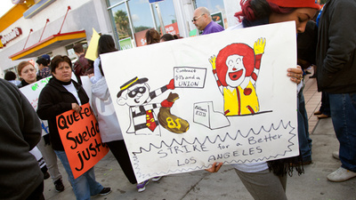 I Went to a Fast Food Protest