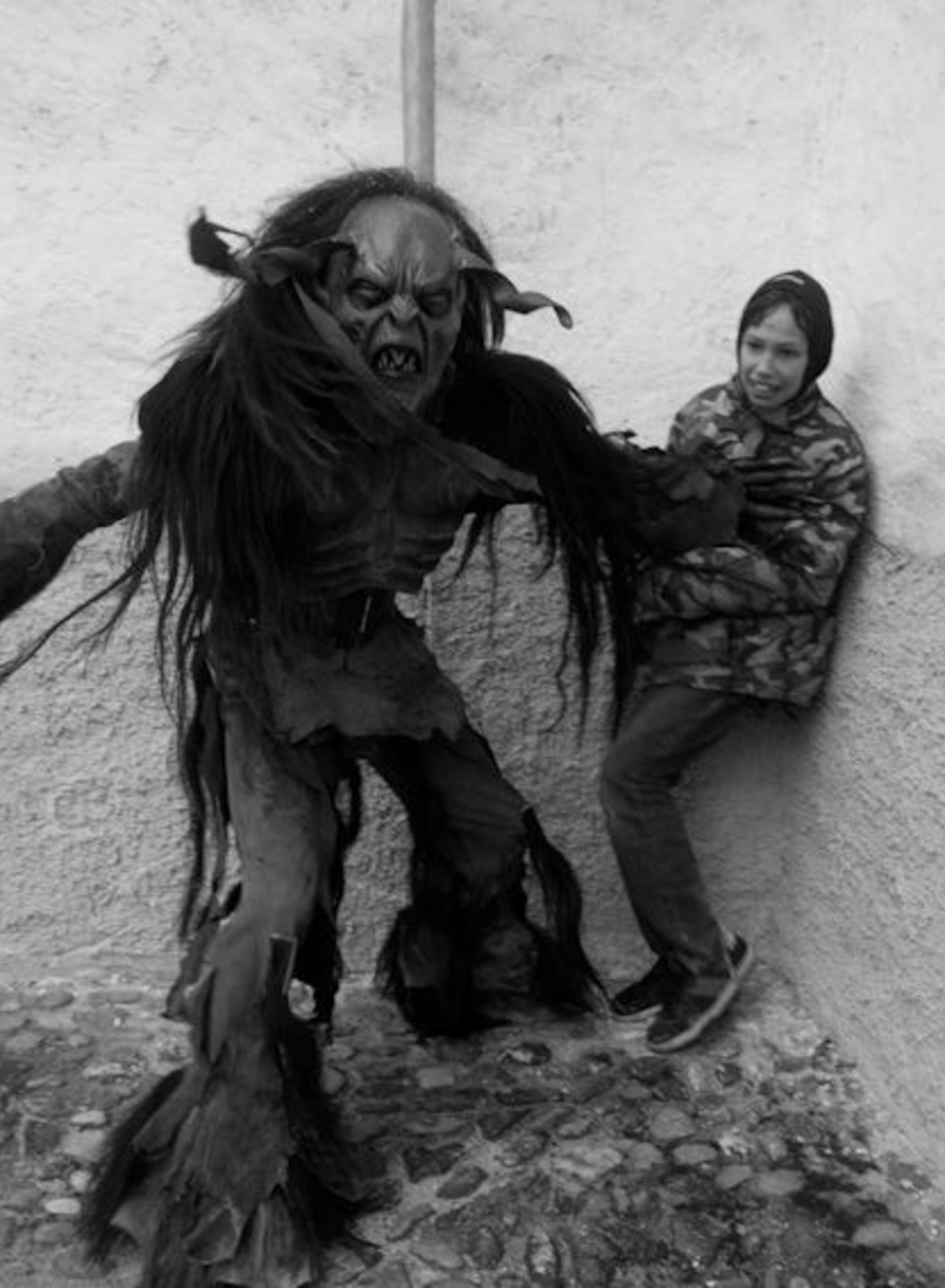 Child-Stealing Demons Terrorized the Alps Again This Year