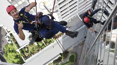 Are High-Rise Window Cleaners Happy?