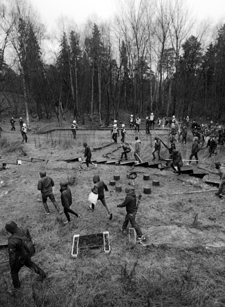 Swedish Neo-Nazis Had a Fight in the Woods