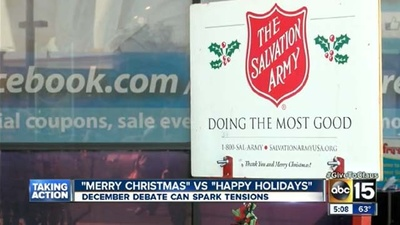 "A Salvation Army Worker Was Assaulted for Not Saying ""Merry Christmas"""