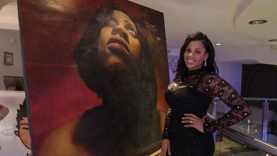 Latrice Jackson Paints Realist Portraits of Celebrities